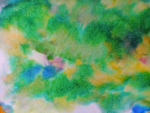 Alligator Alley Watercolor Backdrop