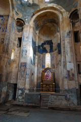Interior of Armenian Cathedral Church of Holy Cross on Akdamar Island. Turkey