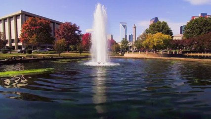 Fotomurales - autumn season in charlotte nc