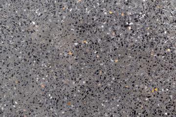Dark gray sandwash texture background. Material construction.