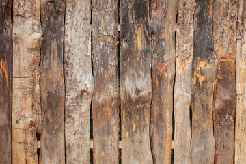 wooden boards on a fence as an abstract background
