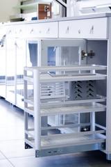 Organizers for kitchen utensils. Furniture accessories. Built in equipment.