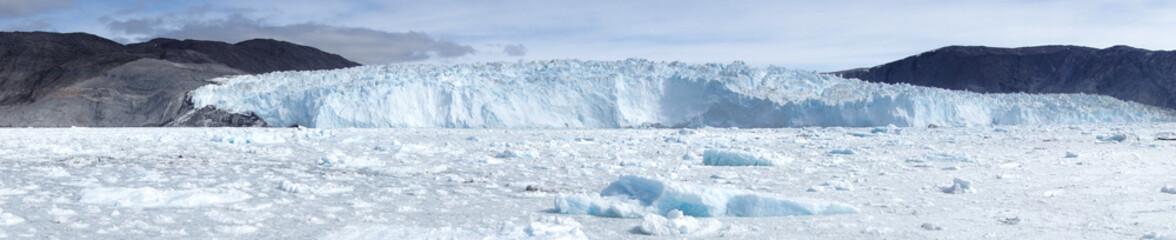 Glacier. Eqi glacier, Greenland