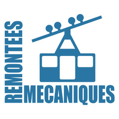 Logo remontées mécaniques.