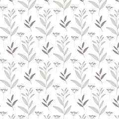 Vector nature seamless pattern background