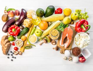 Healthy organic nutritious diet