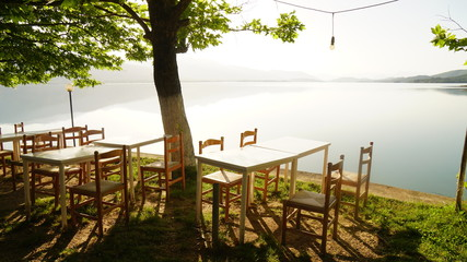 Taverne am Plastiras Lake