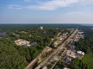 Aerial view of Daphne, Alabama
