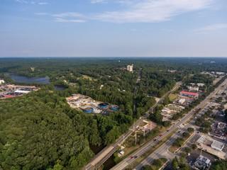 Aerial view of Daphne , Alabama