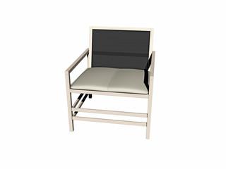 Moderner hölzerner Stuhl