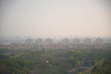 City landscape in China