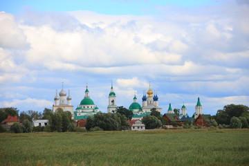 Deurstickers Spaso-Yakovlevskiy monastery