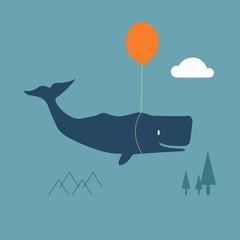 Wal macht Urlaub