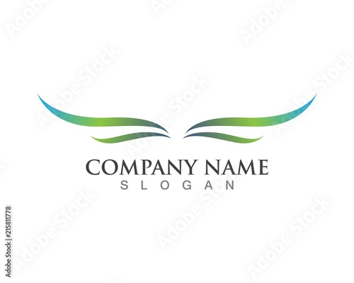 Wing Logo Symbol For A Professional Designer Stock Image And