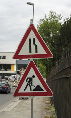 german street signs