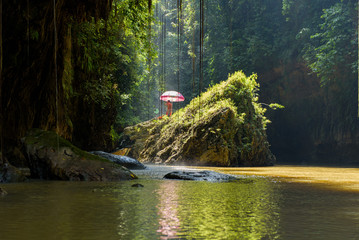 Green Canyon, Pandagaran, Java Central, Indonesia.