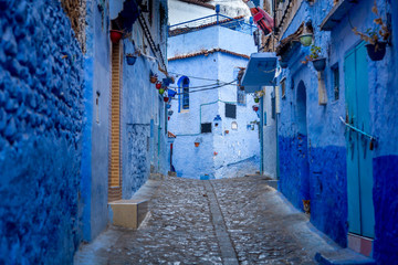 Deurstickers Chefchaouen ,Blue city of Morocco