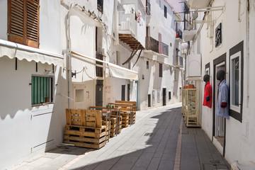 Unterstadt Eivissa auf Ibiza Carrer d'Enmig