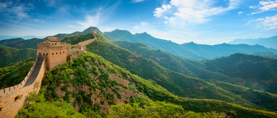 Tuinposter Chinese Muur Great wall of China