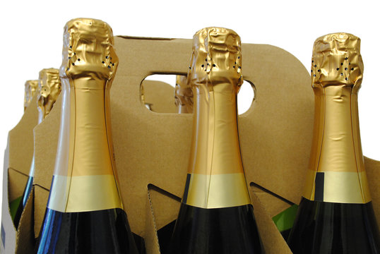 Champagne in carriers