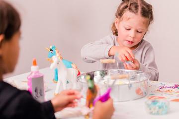 Kids unicorn craft