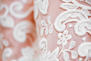 Background, texture, embroidered lace.