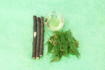 Indian Ayurvedic Neem & Oil, Indian Ayurvedic