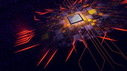 Transformer CPU makes powerful energy rays