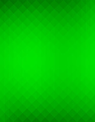 Abstract green colored, gradient art geometric background with soft color tone. Ideal for artistic concept works, cover designs.
