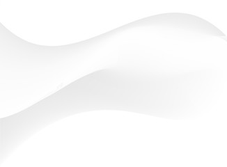 Soft white and gray color tone wavy minimal background.