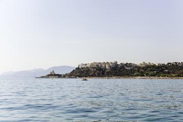 Italian Sea. Italian Town