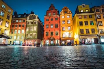 Gamla Stan at twilight, Stockholm, Sweden