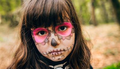 Little girl in Halloween