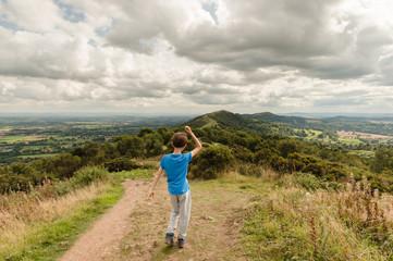 Walking in the Malvern Hills