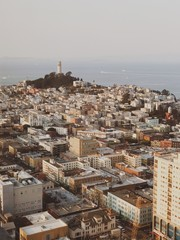 View of San Francisco from above