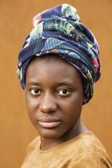 Portrait of ethnic girl
