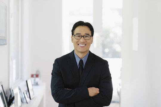 Portrait of Asian Man