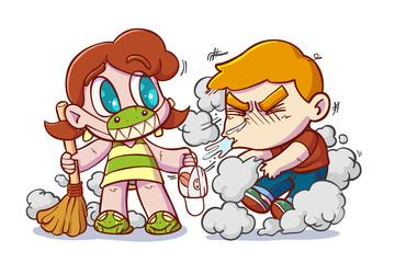 Let's clean.