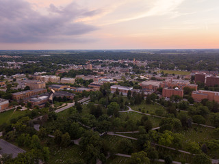 Bowling Green Ohio Aerial Photo