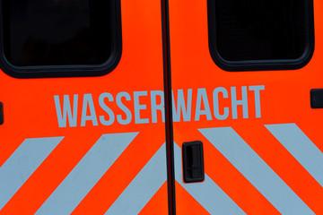 Einsatzwagen der Wasserwacht
