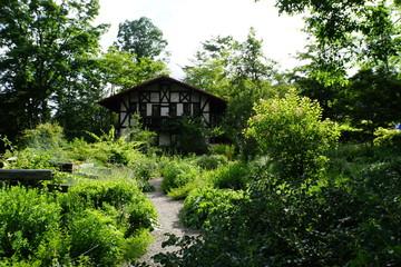 森のコテージ 別荘 山小屋 避暑地 日本