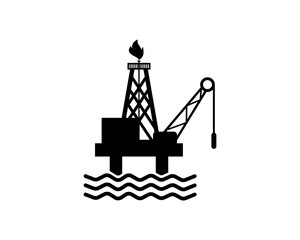 oil industry oil refinery industry industrial business company image vector icon logo symbol