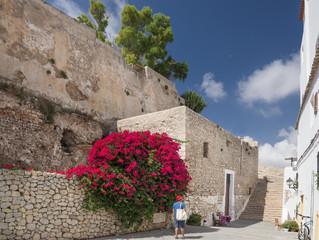 Festungsmauer Eivissa auf Ibiza
