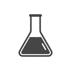 Beaker For Experiment icon or logo