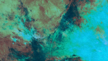 Abstract painted grunge texture. Fractal background. Digital art. 3D rendering.