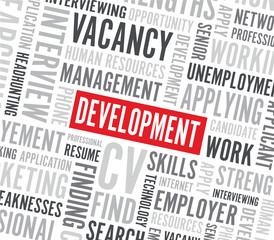 development word background