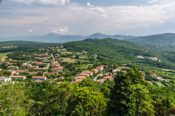 Labin, Croatia - views on Rabac
