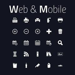Web & Mobile Icon Set