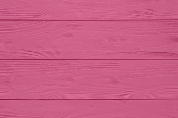 Pink painted wood board texture and background. Wood planks pattern.