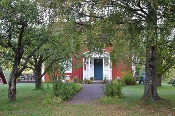 Ett hus i småland sverige